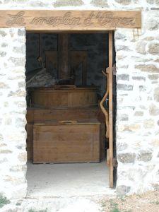 Coffre intérieur moulin